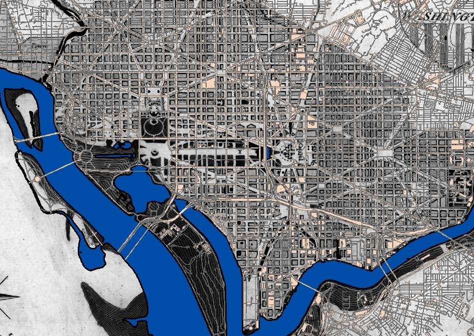 Overlays For The Day DC Government Online ERIK PORSE PhD - Dc roads
